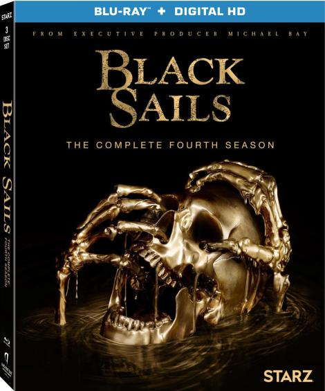 'Black Sails: The Complete Fourth Season'; The Final Season Sails To Blu-ray & DVD August 29, 2017 From Anchor Bay & Lionsgate 5