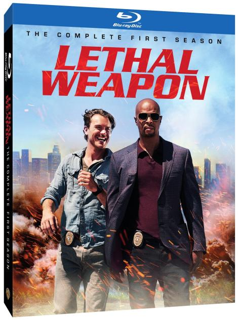 'Lethal Weapon: The Complete First Season'; Arrives On Blu-ray & DVD September 19, 2017 From Warner Bros 2