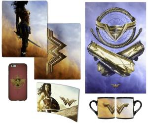 DC & Warner Bros Launch The 'Wonder Woman' Online Store Offering Exclusive Merchandise Celebrating The Film's Release 1