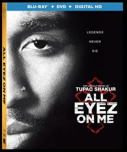 'All Eyez On Me'; The Untold Story Of Tupac Shakur Arrives On Digital HD August 22 & On Blu-ray & DVD September 5, 2017 From Lionsgate 1