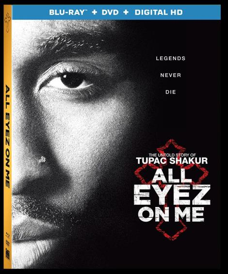 'All Eyez On Me'; The Untold Story Of Tupac Shakur Arrives On Digital HD August 22 & On Blu-ray & DVD September 5, 2017 From Lionsgate 4
