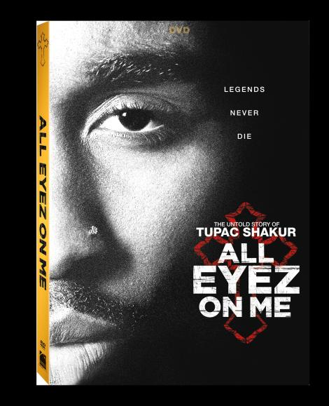'All Eyez On Me'; The Untold Story Of Tupac Shakur Arrives On Digital HD August 22 & On Blu-ray & DVD September 5, 2017 From Lionsgate 5