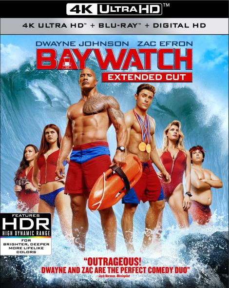 'Baywatch: Extended Cut'; Arrives On Digital HD August 15 & On 4K Ultra HD & Blu-ray August 29, 2017 From Paramount 2