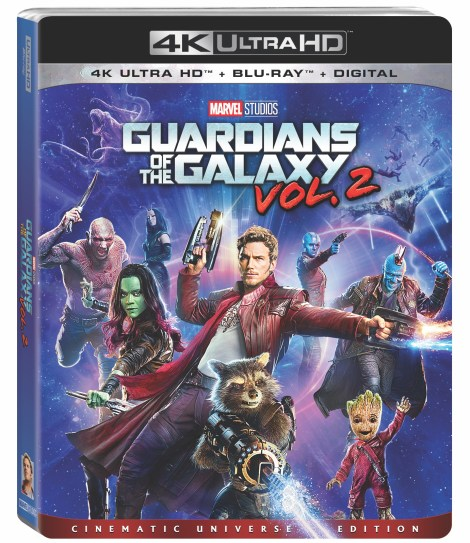 'Guardians Of The Galaxy Vol. 2'; Arrives Digitally In HD & 4K August 8 & On 4K Ultra HD & Blu-ray August 22, 2017 From Marvel Studios 2