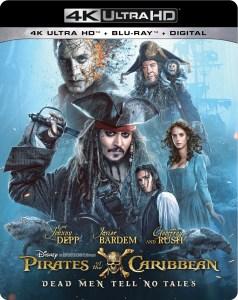 'Pirates Of The Caribbean: Dead Men Tell No Tales'; Arrives On Digital September 19 & On 4K Ultra HD & Blu-ray October 3, 2017 From Disney 1