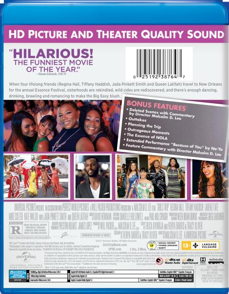 'Girls Trip'; Arrives On Digital October 3 & On Blu-ray & DVD October 17, 2017 From Universal 6