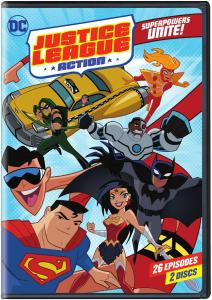 'Justice League Action: Season 1 Part 1'; Arrives On DVD October 10, 2017 From DC & Warner Bros 1