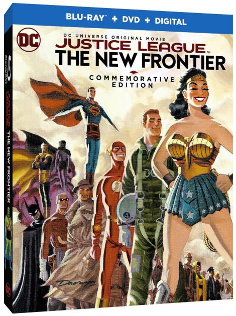 'Justice League: The New Frontier' Commemorative Edition; Arrives On Blu-ray, Blu-ray Steelbook & DVD October 3, 2017 From DC & Warner Bros 3
