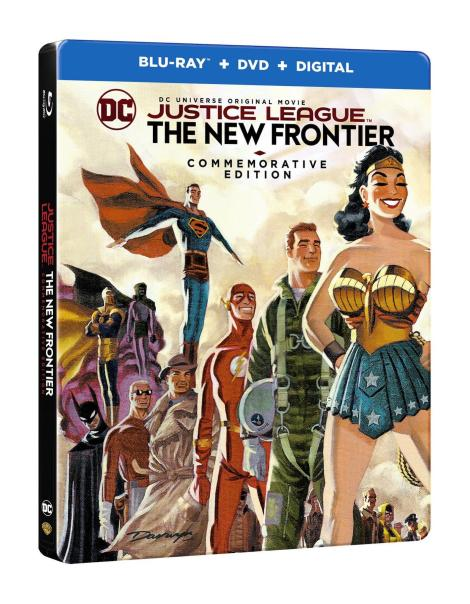 'Justice League: The New Frontier' Commemorative Edition; Arrives On Blu-ray, Blu-ray Steelbook & DVD October 3, 2017 From DC & Warner Bros 16