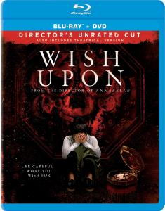 [Blu-Ray Review] 'Wish Upon' Director's Unrated Cut: Now Available On Blu-ray & DVD From Broad Green 1