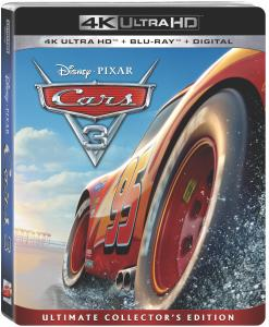 'Cars 3'; Arrives Home On Digital October 24 & On 4K Ultra HD, Blu-ray & DVD November 7, 2017 From Disney • Pixar 1