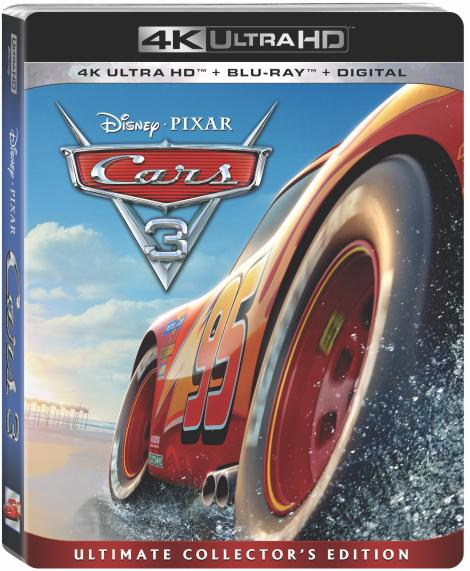 'Cars 3'; Arrives Home On Digital October 24 & On 4K Ultra HD, Blu-ray & DVD November 7, 2017 From Disney • Pixar 3