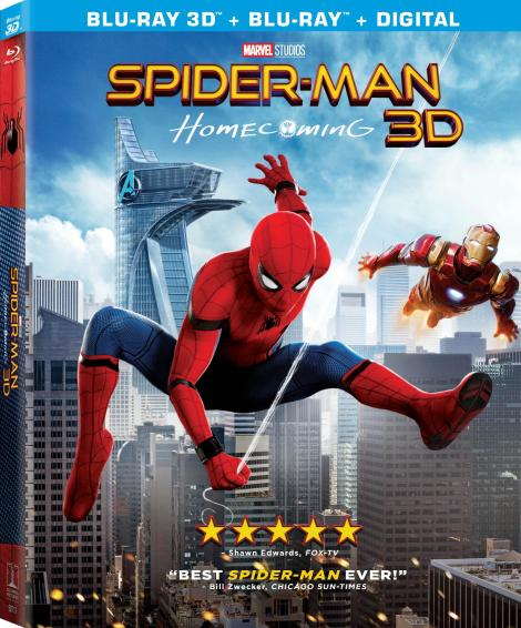 'Spider-Man: Homecoming'; Arrives On Digital September 26 & On 4K Ultra HD, Blu-ray 3D, Blu-ray & DVD October 17, 2017 From Sony Pictures 7
