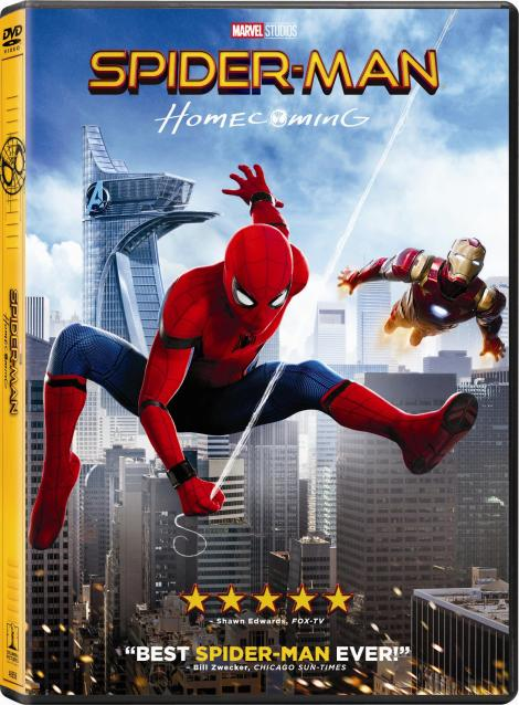 'Spider-Man: Homecoming'; Arrives On Digital September 26 & On 4K Ultra HD, Blu-ray 3D, Blu-ray & DVD October 17, 2017 From Sony Pictures 11