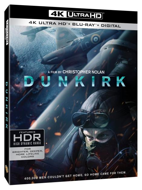 Christopher Nolan's 'Dunkirk'; Arrives On Digital December 12 & On 4K Ultra HD, Blu-ray & DVD December 19, 2017 From Warner Bros 2