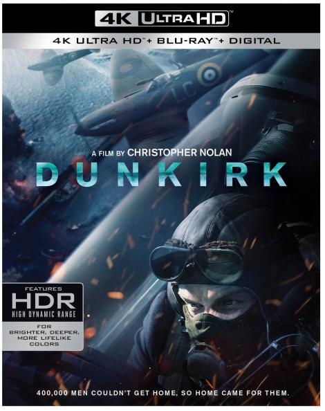 Christopher Nolan's 'Dunkirk'; Arrives On Digital December 12 & On 4K Ultra HD, Blu-ray & DVD December 19, 2017 From Warner Bros 3