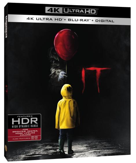 'IT'; Arrives On Digital December 19, 2017 & On 4K Ultra HD, Blu-ray & DVD January 9, 2018 From Warner Bros 7