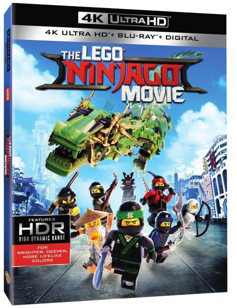 'The LEGO Ninjago Movie'; Arrives On Digital December 12 & On 4K Ultra HD, 3D Blu-ray, Blu-ray & DVD December 19, 2017 From Warner Bros 4