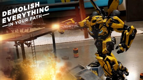 Paramount Launches Its First Augmented Reality Experience Featuring Content from Transformers: The Last Knight 2