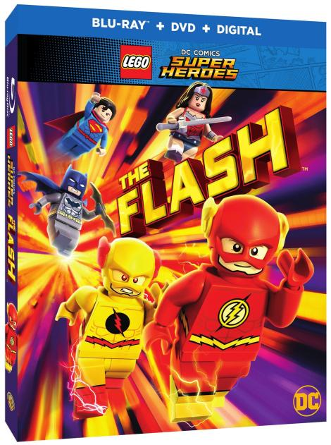 Trailer, Artwork & Release Details For 'LEGO DC Comics Super Heroes: The Flash'; Arrives On Digital February 13 & On Blu-ray & DVD March 13, 2018 From DC & Warner Bros 3
