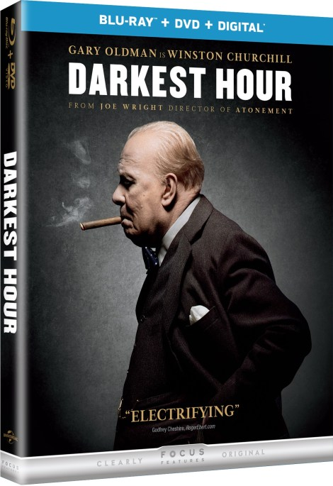 'Darkest Hour'; The Oscar-Nominated Film Arrives On Digital February 6 & On Blu-ray & DVD February 27, 2018 From Universal 4