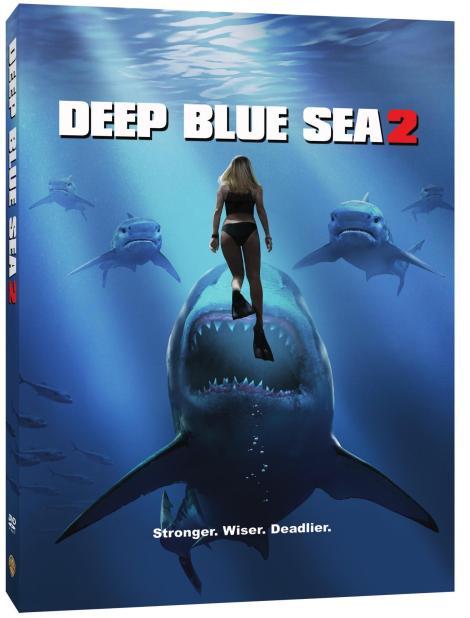 Trailer, Artwork & Release Details For 'Deep Blue Sea 2'; Arrives On Blu-ray, DVD & Digital April 17, 2018 From Warner Bros 10