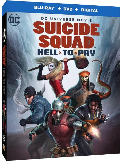 Trailer, Artwork & Release Info For 'Suicide Squad: Hell To Pay'; Arrives On Digital March 27 & On 4K Ultra HD, Blu-ray & DVD April 10, 2018 From DC & Warner Bros 3