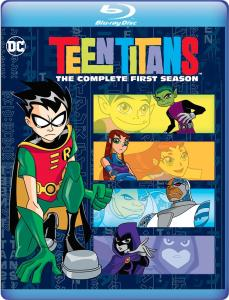 [Blu-Ray Review] 'Teen Titans: The Complete First Season': Available On Blu-ray January 23, 2018 From DC & Warner Archive 1