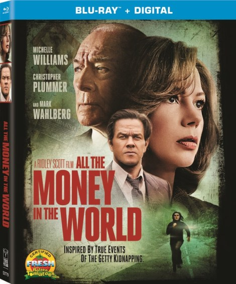 'All The Money In The World'; Arrives On Digital March 27 & On Blu-ray & DVD April 10, 2018 From Sony 4