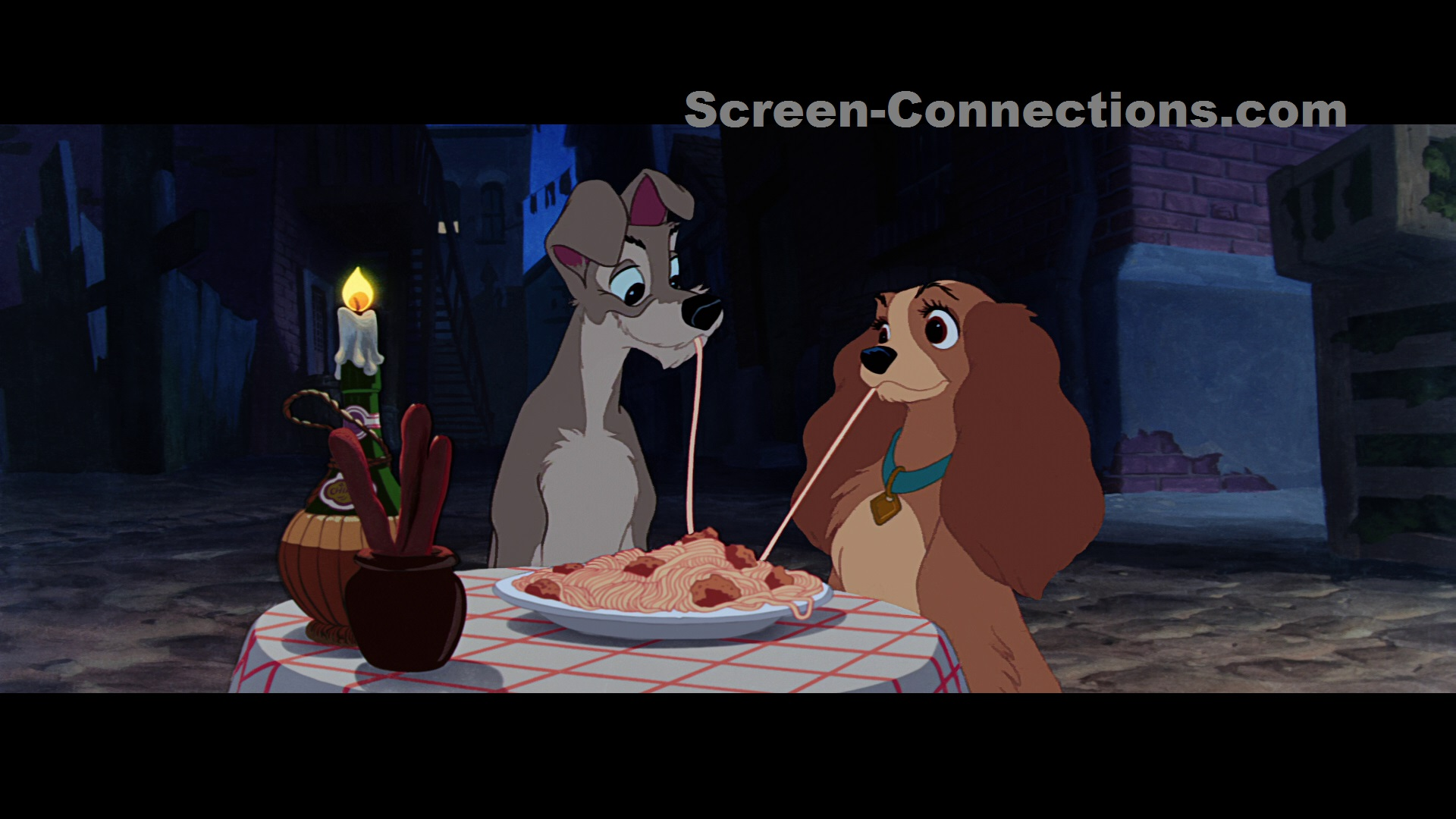 Blu Ray Review Disney S Lady And The Tramp Now Available On Signature Collection Blu Ray From Disney Screen Connections