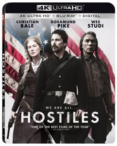 'Hostiles'; Arrives On Digital April 10 & On 4K Ultra HD, Blu-ray & DVD April 24, 2018 From Lionsgate 1