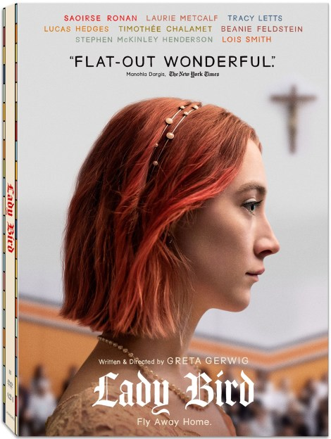 'Lady Bird'; The Oscar-Nominated Film Arrives On Blu-ray & DVD March 6, 2018 From Lionsgate 6