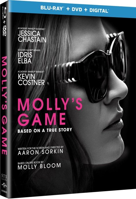 'Molly's Game'; Arrives On Digital March 27 & On Blu-ray & DVD April 10, 2018 From Universal 13
