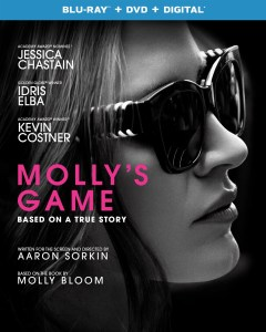 [Blu-Ray Review] 'Molly's Game': Now Available On Blu-ray, DVD & Digital From Universal 1