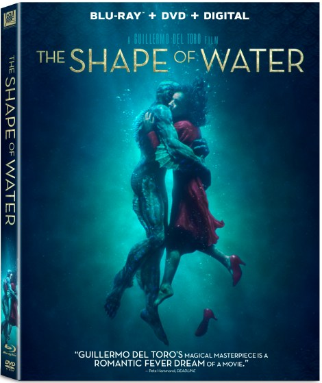 Guillermo Del Toro's 'The Shape Of Water'; Arrives On Digital February 27 & On 4K Ultra HD, Blu-ray & DVD March 13, 2018 From Fox Home Ent 2
