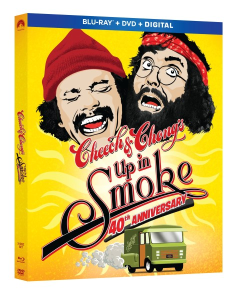 Cheech & Chong's 'Up In Smoke: 40th Anniversary Edition'; Arrives In A Deluxe Collector's Edition & On Blu-ray & DVD April 10, 2018 From Paramount 3