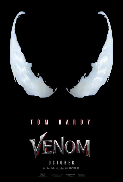 The First Official Teaser Trailer & Poster For The 'Venom' Movie Are Here 2