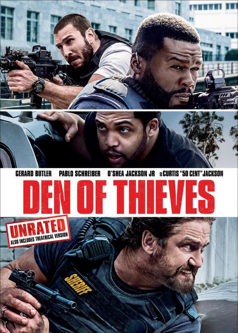 'Den Of Thieves' Unrated; Arrives On Digital April 10 & On Blu-ray & DVD April 24, 2018 From Universal 8