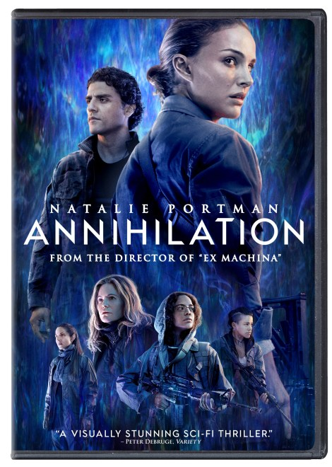 'Annihilation'; Arrives On Digital May 22 & On Blu-ray, DVD & 4K Ultra HD* May 29, 2018 From Paramount 8