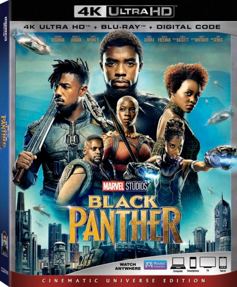 Marvel's 'Black Panther'; Arrives On Digital May 8 & On 4K Ultra HD, Blu-ray & DVD May 15, 2018 From Marvel Studios 2