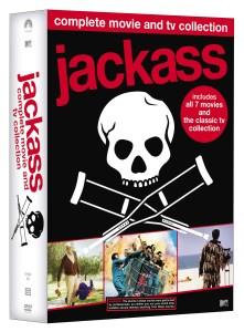'Jackass: Complete Movie & TV Collection'; Own The 11-Disc DVD Set On May 29, 2018 From MTV & Paramount 1