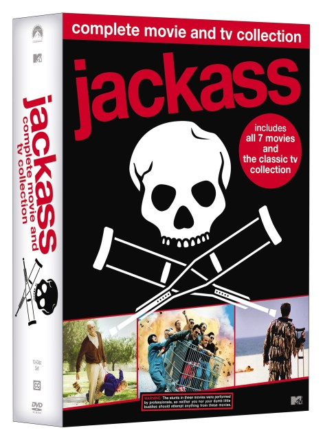 'Jackass: Complete Movie & TV Collection'; Own The 11-Disc DVD Set On May 29, 2018 From MTV & Paramount 3