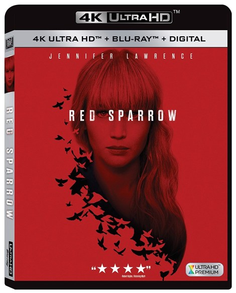 'Red Sparrow'; Arrives On 4K Ultra HD, Blu-ray & DVD May 22, 2018 From Fox Home Ent. 3