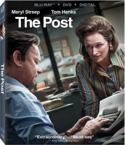 [Blu-Ray Review] 'The Post': Now Available On 4K Ultra HD, Blu-ray, DVD & Digital From DreamWorks – Fox Home Ent. 1