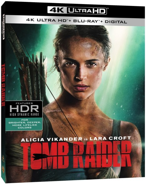 'Tomb Raider'; Arrives On Digital May 29 & On 4K Ultra HD, 3D Blu-ray, Blu-ray & DVD June 12, 2018 From MGM & Warner Bros 4