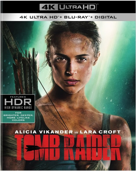 'Tomb Raider'; Arrives On Digital May 29 & On 4K Ultra HD, 3D Blu-ray, Blu-ray & DVD June 12, 2018 From MGM & Warner Bros 3
