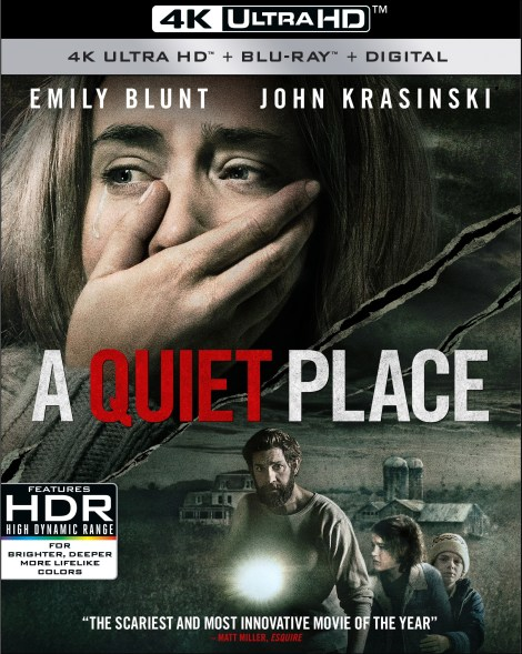 'A Quiet Place'; Arrives On Digital June 26 & On 4K Ultra HD, Blu-ray & DVD July 10, 2018 From Paramount 14