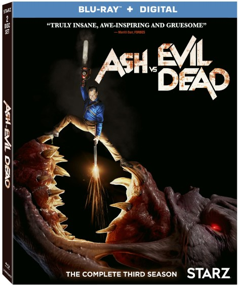 'Ash Vs Evil Dead: Season Three'; The Final Season Arrives On Digital May 25 & On Blu-ray & DVD August 21, 2018 From Lionsgate 4