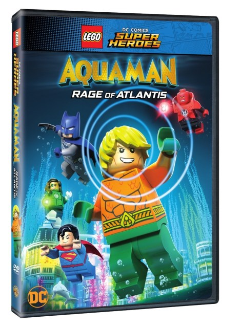 Trailer, Artwork & Release Details For 'LEGO DC Comics Super Heroes: Aquaman - Rage Of Atlantis'; Arrives On Blu-ray, DVD & Digital July 31, 2018 From DC & Warner Bros 5