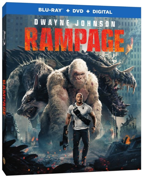 'Rampage'; Arrives On Digital June 26 & On 4K Ultra HD, 3D Blu-ray, Blu-ray & DVD July 17, 2018 From Warner Bros 17
